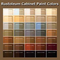 Rustoleum Countertop Paint Color Options : Rust-Oleum Cabinet Transformations Reviews ... cabinet paint colors ...