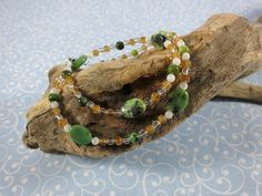 Self-Confidence - Chrysoprase & Citrine Necklace - 101 wedding Shops, Shirt Refashion, Sweaters And Leggings, Cool Things To Buy, Confidence, Coupon, Food, Discount Handbags, Self Confidence
