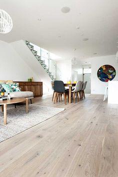 Floors from 'The Block' | Godfrey Hirst New Zealand Floors Room Design, Home Decor, Flooring, Coastal Decorating Living Room, Home Interior Design, Interior Design, Interior Deco, Wooden Floors Living Room, Royal Oak Floors