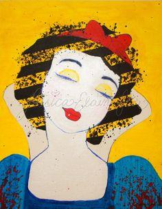 Snow White Pop Art