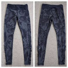 Lululemon Brisk Bloom Speed Tights Gorgeous and very hard to find! In excellent condition with no specific flaws to note. Priced according to rarity. No rude comments please :) lululemon athletica Pants Leggings