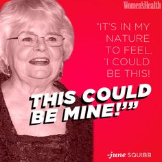 Like June Squibb's awesome mantra? Click through for 9 more quotes to live by: www.womenshealthmag.com/life/oscar-nominees-inspiring-quotes?cm_mmc=Pinterest-_-womenshealth-_-content-life-_-oscarnomineequotes