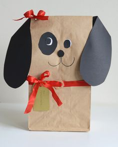 Brown Paper Bag Dog //willowday