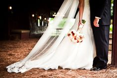 pretty long and dramatic veil. Love how the shot is just their bottom halves and the straw strewn all of the barn floor.  rustic and classy- ss    Cedarwood