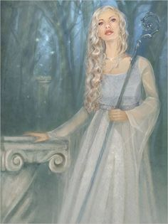 """Gróa, which means """"growing"""" is listed as the wife of Aurvandil the Bold. She appears in the Skáldskaparmál (Prose Edda) in the story of Thor's battle with the jötunn Hrungnir. After Thor kills Hrungnir, Gróa is asked to help magically remove shards of the giant's whetstone which became embedded in Thor's head during the encounter."""