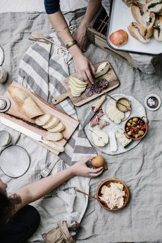 appalachian picnic | local milk