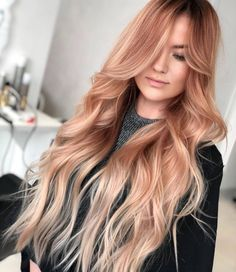 Red Hot Ombre - 60 Best Ombre Hair Color Ideas for Blond, Brown, Red and Black Hair - The Trending Hairstyle Gorgeous Hair Color, Ombre Hair Color, Hair Color Balayage, Cool Hair Color, Hair Colors, Honey Balayage, Brown Balayage, Blonde Balayage, Blond Rose