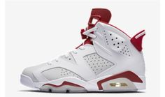 new product df3ba 389bb Nike Air Jordan 6 Retro Basketball Alternate Hare 1991 White Red in  Clothing, Shoes   Accessories, Men s Shoes, Athletic