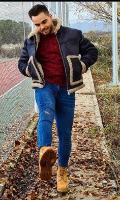 Spiced Pretzels, Timberlands, Vest, Hipster, Skinny, Guys, Boots, How To Wear, Jackets