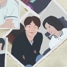 Korean Art, Korean Drama, Reply 1997, Lolita 1997, Ryu Jun Yeol, Bo Gum, Berserk, Graphic Design Posters, Drama Movies