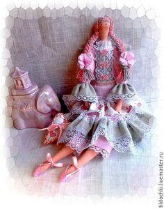 Купить Ангел Мира и Любви,,,Нежный Ангел в стиле Тильда - бледно-розовый, розовый, белый
