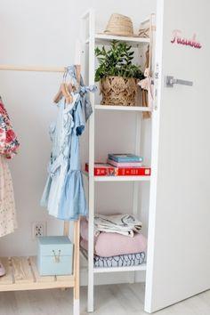 5 Pastel Nursery, Girl Nursery, Girl Room, Toddler Rooms, Ladder Decor, Home Decor, Decoration Home, Room Decor, Girl Rooms