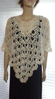 Fabulous Crochet a Little Black Crochet Dress Ideas. Georgeous Crochet a Little Black Crochet Dress Ideas. Crochet Cape, Crochet Poncho Patterns, Black Crochet Dress, Crochet Jacket, Knitted Poncho, Crochet Beanie, Knitted Shawls, Crochet Shawl, Crochet Stitches