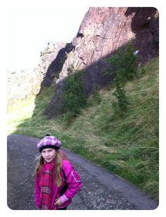 På vej op på et bjerg med sin far, Edinburgh, 201