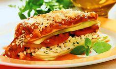 Lasanha de Abobrinha / http://mdemulher.abril.com.br/culinaria/receitas/lasanha-abobrinha-483228.shtml