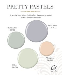 New Neutrals Hot Trend In Paint Color Using Pretty Pastels As Creates A