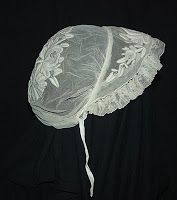 Mid 19th Century lace cap