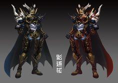 Samurai Concept, Armor Concept, Concept Art, Futuristic Armour, Knight Armor, Dark Ages, Armors, Fantasy Characters, Gundam