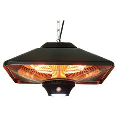 EnerG+ Hanging Electric Infrared Heater - Black