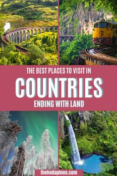 Are you ready for a different kind of travel bucket list this 2020? Get free travel guides and tips to the countries ending with land. An ultimate list of the best travel spots in countries ending with land - top countries to visit bucket lists. #traveldestinations #placestotravel Beautiful Vacation Spots, Dream Vacation Spots, Beautiful Places To Travel, Cool Places To Visit, Places To Go, Top Places To Travel, Top Travel Destinations, Top Countries To Visit, Tourist Spots