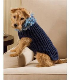 Easy-To-Loom Dog Sweater