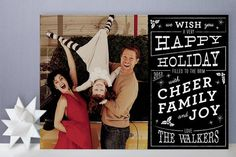 Christmas card happiness, #christmas card