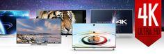 Elles n'attendent que vous, à regarder, toucher pour vous faire une idée sur les nouvelles #Tv Ultra HD #4k ! |  #SmartTV #UltraHD #UltraHD4K #Tv #téléviseur #télévision #flatscreen #smartscreen