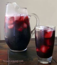 ^^  Agua de Jamaica Recipe