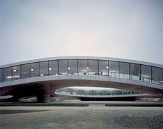 SANAA (Kazuyo Sejima + Ryue Nishizawa)  projects:  Musée Louvre-LENS  in Northern France or the Rolex Leaning Center at the campus of the EPFL in Lausanne