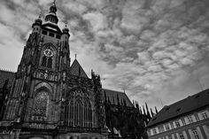#Prague #Church black and white.
