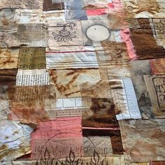 work in progress ~ by Jane LaFazio I thought it might be interesting to follow along in the creation of a series art quilts I'm making....