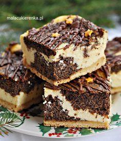 Prosty pyszny makowiec z serem. Box Cake Recipes, Cookie Recipes, Healthy Dessert Recipes, Baking Recipes, Mini Tortillas, Xmas Food, Polish Recipes, Food Cakes, No Bake Cake
