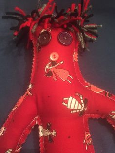 A personal favorite from my Etsy shop https://www.etsy.com/listing/245889309/angel-in-heaven-dammit-doll-sympathy