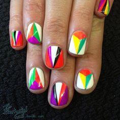 Instagram photo by theillustratednail  #nail #nails #nailart