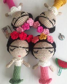 Frida baby rattles pattern soon on my etsy shop.