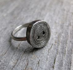#Jewelry #Ring #Silver #Woodgrain #ballandchain