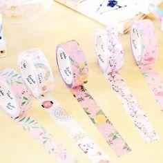 $1.29 AUD - Cherry Donut Watercolor Flowers Decorative Washi Masking Tape Diy Scrapbooking #ebay #Home & Garden