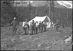 Inmagic DB/Text WebPublisher PRO - DB/Text WebPublisher cannot be accessed in this way. Canadian Rockies, The Old Days, Banff, Vintage Photos, Gazebo, Old Things, Camping, Outdoor Structures, People