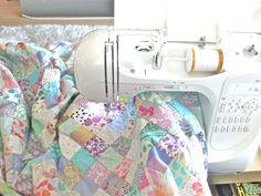 Queen Size Faux Chenille Quilt – Tutorial!