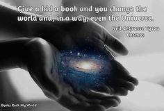change the universe: read