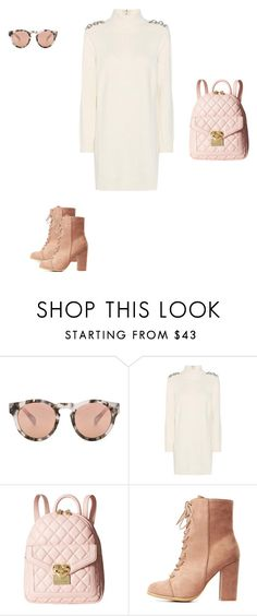 """Untitled #4204"" by explorer-14576312872 ❤ liked on Polyvore featuring Westward Leaning, Burberry, Love Moschino and Charlotte Russe"
