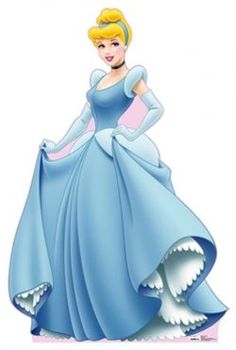 Cinderella and Prince Charming will always be my favorite Disney princess and prince. Cinderella in her ball gown