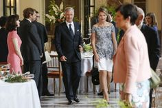 King Philippe and Queen Mathilde held a dinner at Royal Palace