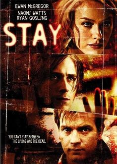 Película vista este fin de semana      Stay.     Trailer en su versión original.         Crítica.     Marc Forster es uno de mis directores favoritos, porque tiene la envidia...