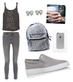 """Untitled #11"" by andraconstantinescu on Polyvore featuring Billabong, MiH Jeans, MICHAEL Michael Kors, LA: Hearts, Floss Gloss and M&Co"