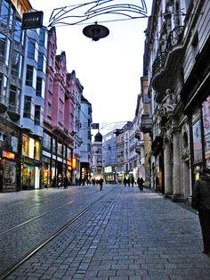 Masarykova Street, Brno, Czech Republic.