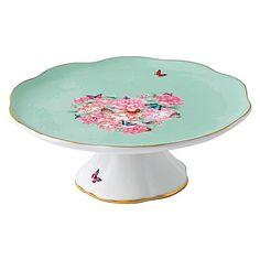 Blessings Cake Stand, 17cm, $80. Miranda Kerr for Royal Albert via Trova.