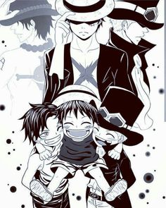 Ace, Monkey D. Luffy or Sabo? – – Monkey D Luffy One Piece Ace, One Piece Manga, One Piece Seasons, One Piece Fanart, One Piece Luffy, One Piece Drawing, One Piece Images, One Piece Pictures, Film Manga