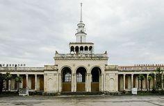 Abandoned Railway Station in Abkhazia (20 Photos)