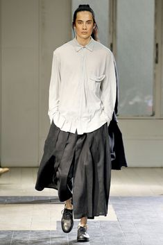 Yohji Yamamoto Spring 2012 Menswear -